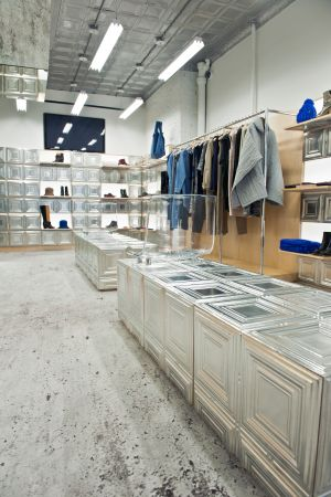 new MM6 Maison Martin Margiela store in NY
