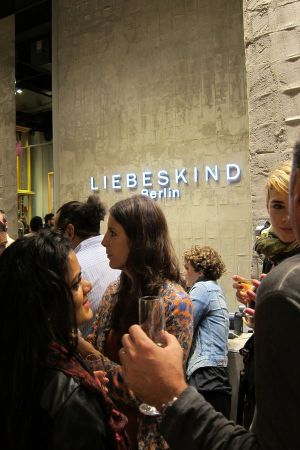 opening party at new Liebeskind store in New York