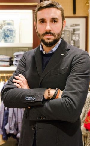 Andrea Galbiati, buyer of Milan-based flagship Brian & Barry