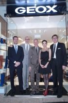 Celebrate the new Hong Kong store: The Geox team and actress Tavia Yeung