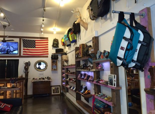 """ The location of the store on Haight Street has been a shoe store for over 20 years."""
