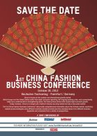 1st China Fashion business Conference