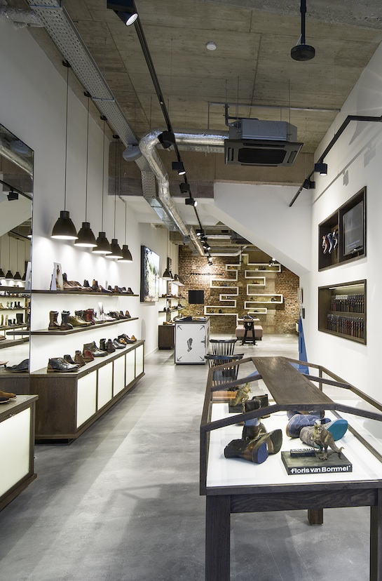 Square Meter Shoe Store
