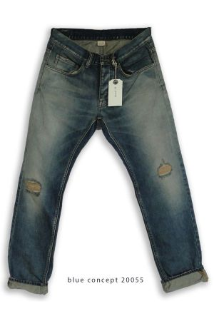 A pair of jeans produced by M&J Group