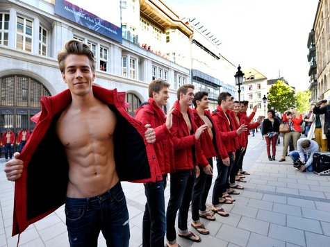 Abercrombie & Fitch store opening