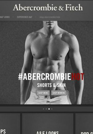 Abercrombie & Fitch website
