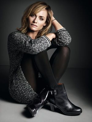 Actress and model Amber Valletta is new face for Marc O'Polo's womenswear.