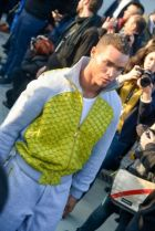Afffair look presented for Alternative Set at Pitti Uomo yesterday