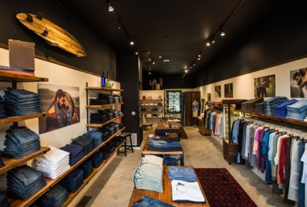 Agave and Bluer, recycled Levi's, heritage brands, vintage classics at new Bluer than Indigo