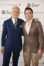 Alessandro Del Piero (r.) with Fabrizio Servente,Global Strategy Advisor, The Woolmark Company