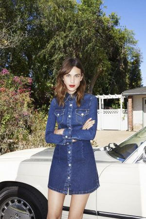 Alexa Chung for AG SS15 (photo: Angelo Pennetta)