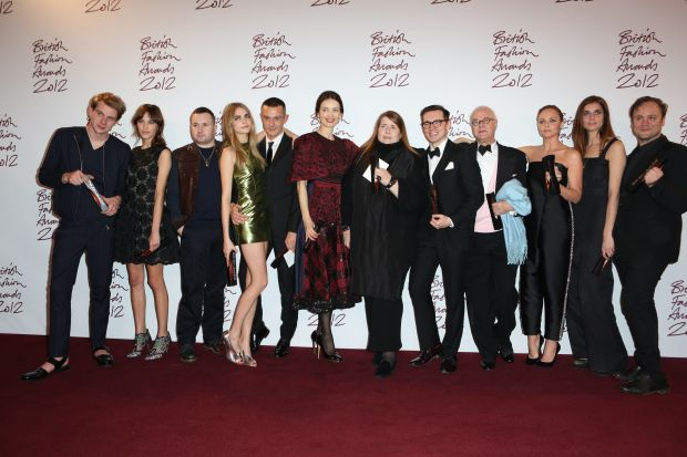 All British Fashion Award Winners 2012