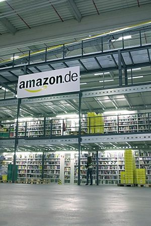 Amazon´s depot in Bad Hersfeld