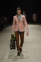 Andrea Pompilio (here showing at Pitti) will participate in Milano Unica's On Stage show