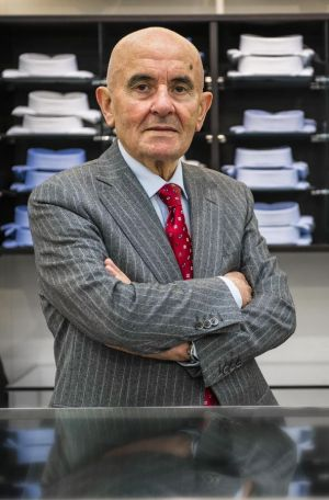 Antonio Tommasini, owner of Venice based Tom Tommasini