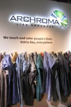 Archroma booth at Denim by PV, Barcelona (May 2014)