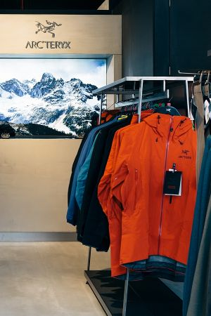 Arc'teryx first mono-brand store at Covent Garden in central London