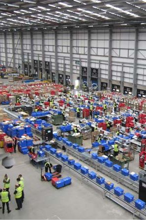 Asos distribution center