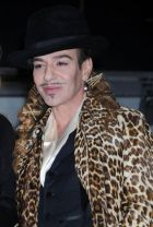 Back in the fashion business: John Galliano