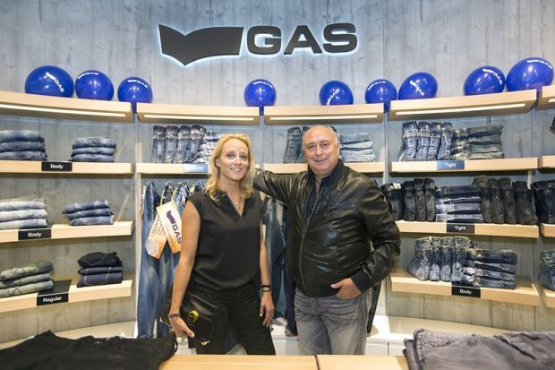 Barbara and Claudio Grotto of Gas