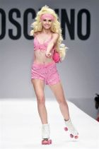 Barbie recreations at Moschino