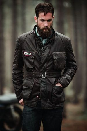 Barbour International x Triumph Motorcycles