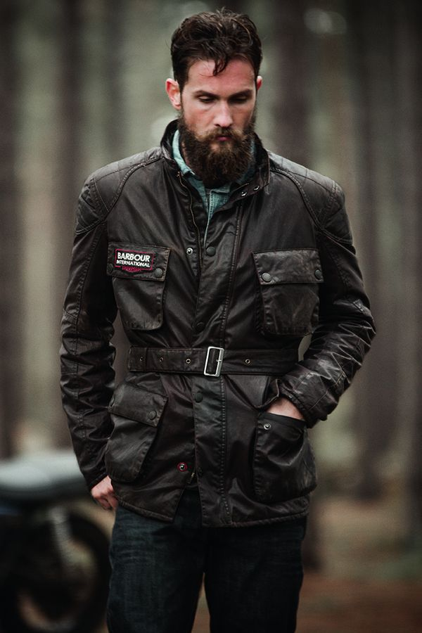 Stories: Barbour International collaborates with Triumph