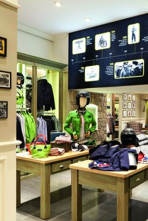 Barbour: new location in Münster