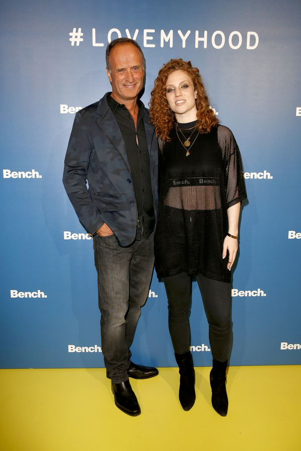 Bench CEO and chairman Bruno Sälzer with Grammy award winner Jess Glynne