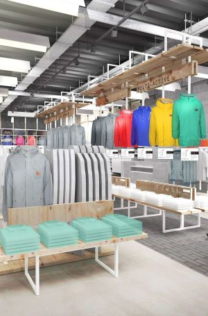 Bench's new retail concept highlights the hoody as a core product