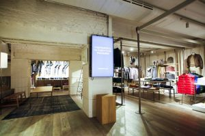 Benetton On Canvas store, Moscow
