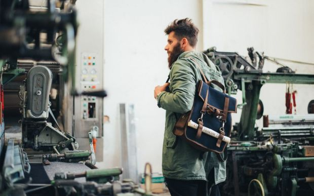 Berto x Kjøre Project backpack