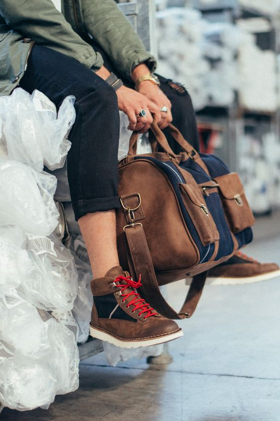 Berto x Kjøre Project shoes and backpack