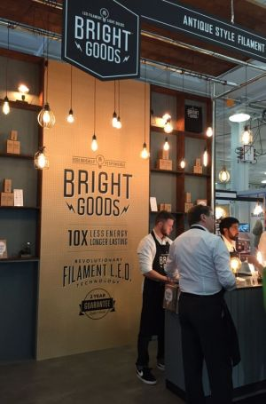 Bight Goods's booth at Retail Design Expo