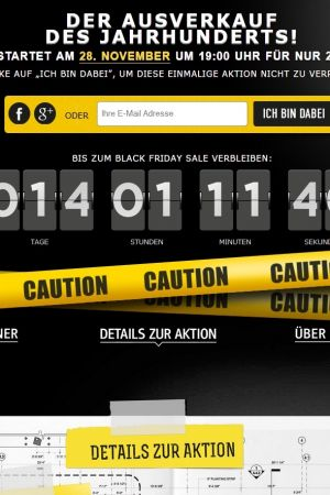 Black Friday countdown online