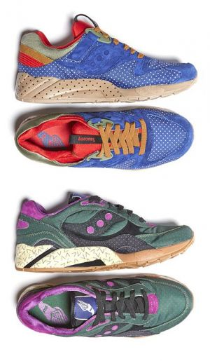 Bodega's Saucony Originals interpretation resulted in striking polkadot versions