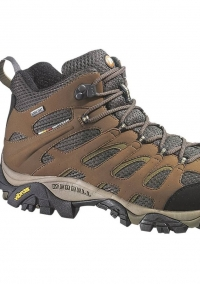 Boot of Wolverine owned brand Merrell
