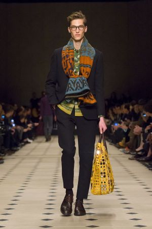 Burberry Prorsum FW15 men's show in London