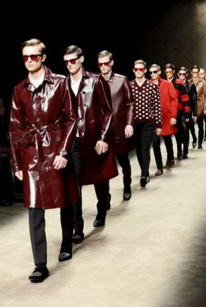 Burberry Prorsum finale at Milan Menswear week