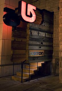Burton flagship store in Chicago