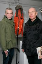 C.P. Company's designers Paul Harvey (l.) and Alessandro Pungetti