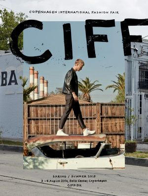 CIFF campaign image starring Gustav Giese