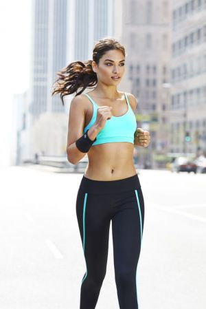 Campaign image of Forever 21 new activewear.