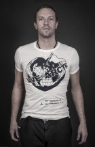Chris Martin supports this initiative (photography by Andy Gotts MBE)