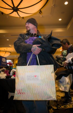 Christmas shopping for victims of Hurricane Sandy