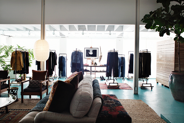 Citizens of Humanity opened first pop-uo store in L.A.