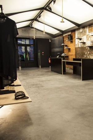 Clean and urban: Adidas concept store in Paris