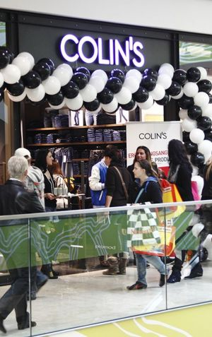 Colin's first store opening in Germany