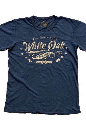 Cone Denim´s White Oak celebrative t-shirt