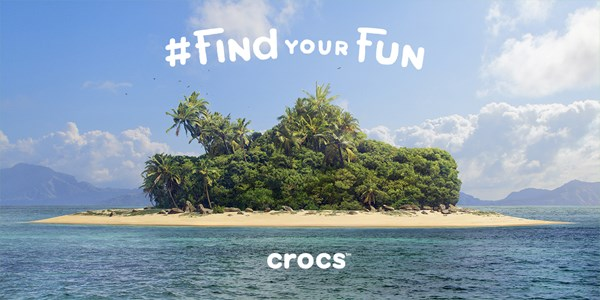 Crocs' global marketing campaign #FindYourFun